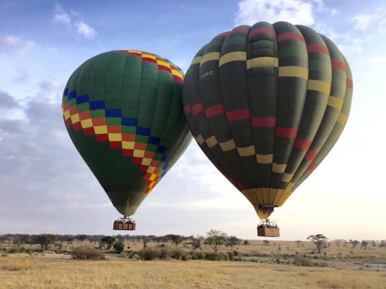 Capa Balão de Ar Quente